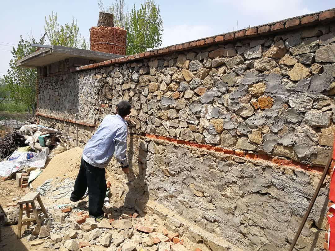 老爹的庭院设计方案:花少钱,办大事,让老破旧农家院变成中式别墅